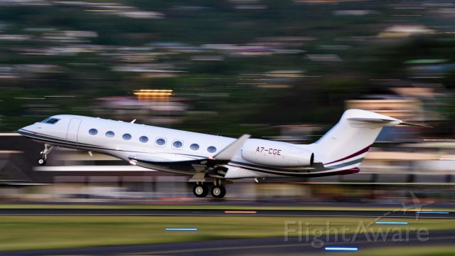 Gulfstream Aerospace Gulfstream G650 (A7-CGE)