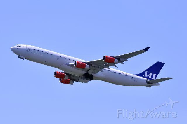 Airbus A340-300 (OY-KBI)