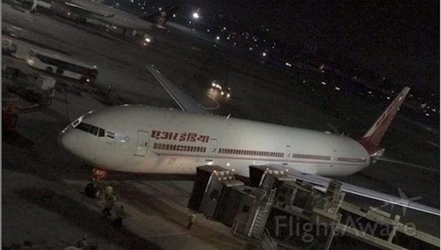 BOEING 777-300ER (VT-ALR) - AI101 off to Delhi and NYC