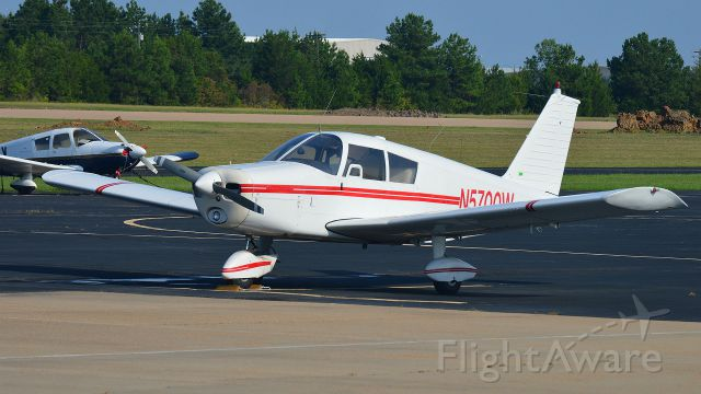 Piper Cherokee (N5700W) - After delivery to its new home in Starkville, MS.
