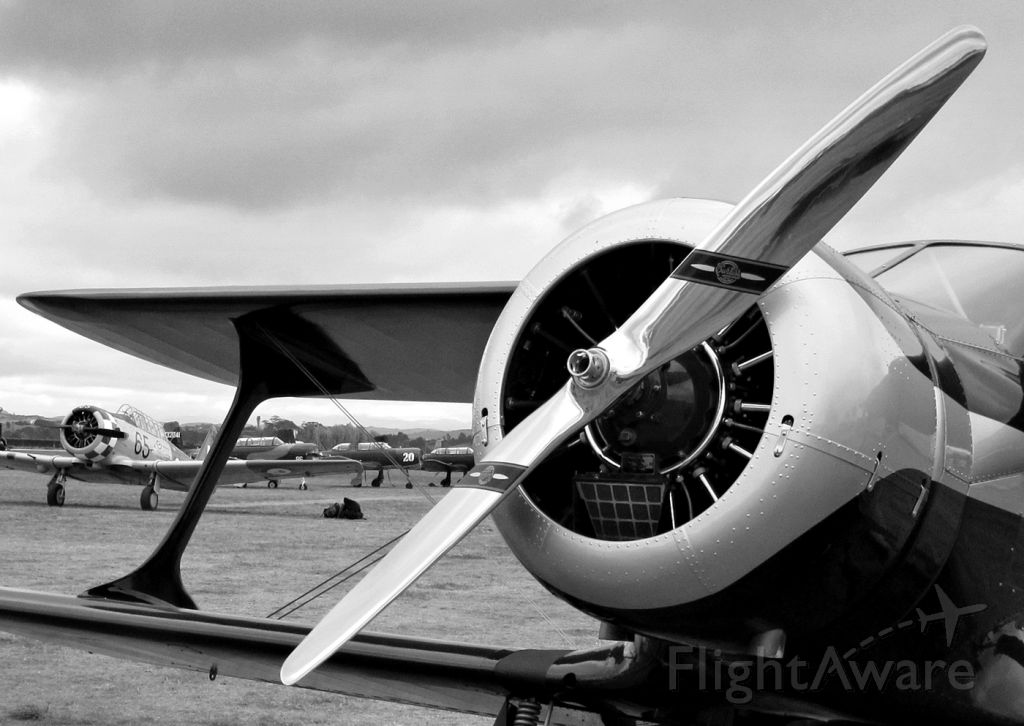 VH-UXP — - Omaka Classic Fighters, Easter 2015 Beech C-17 Staggerwing, 1936.