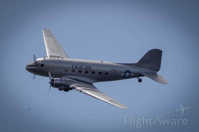 Douglas DC-3 (F-AZOX) - Fête de l'hydravion à Biscarosse