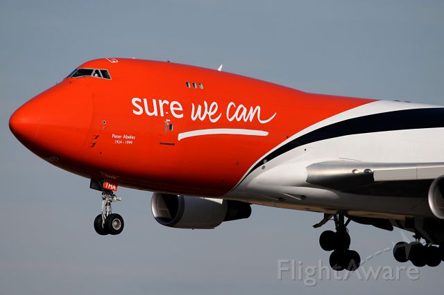 Boeing 747-400 (OO-THA)