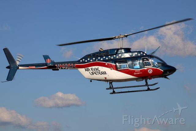 Bell JetRanger (N296AE) - Coming in from Emory University Hospital in 4096px! Photo taken on 10/1/2020.
