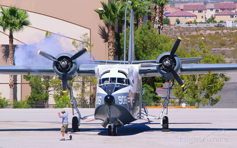 Grumman HU-16 Albatross (N3HU) - Start-up of the righthand engine on a 1953 HU-16 Albatross!