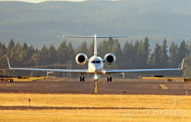 Gulfstream Aerospace Gulfstream V (N3546) - Nike Air!  Gulfstream G-V. 10-1-12