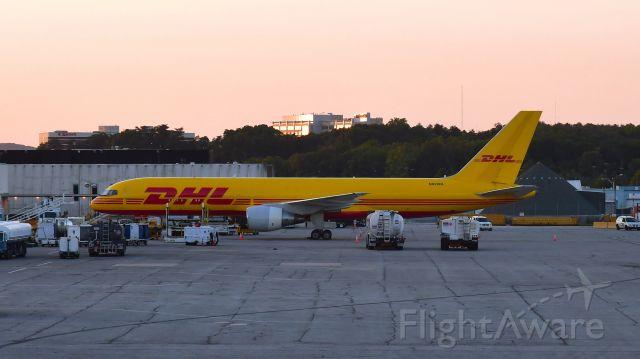 Boeing 757-200 (N620DL) - DHL Boeing 757-232(PCF) N620DL in Baltimore