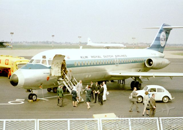 Douglas DC-9-10 (PH-DNE) - 1967 at Düsseldorf (EDDL)