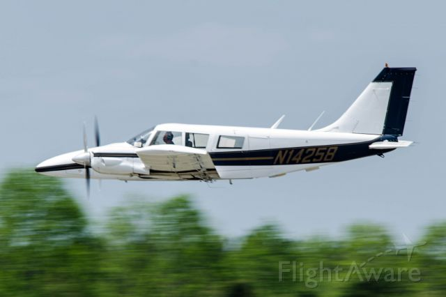 Piper Seneca (N14258) - I was inside the airplane when the photo was taken