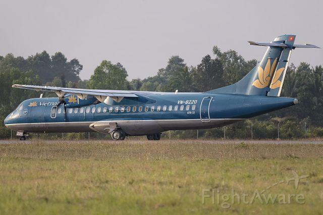 ATR ATR-72 (VNB220) - 24th Dec., 2014