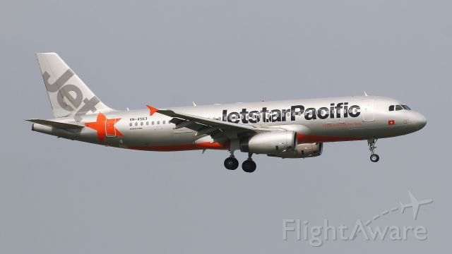 Airbus A320 (VNA563)