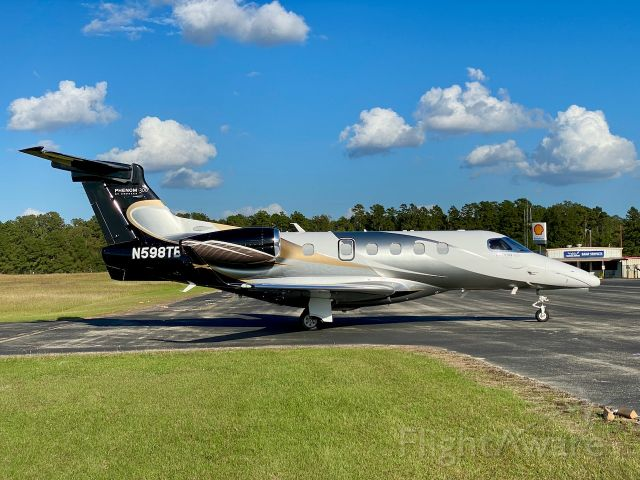 Embraer Phenom 300 (N598TB) - Beautiful Embraer Phenom 300 at the KOCH airport in Nacogdoches, TX.