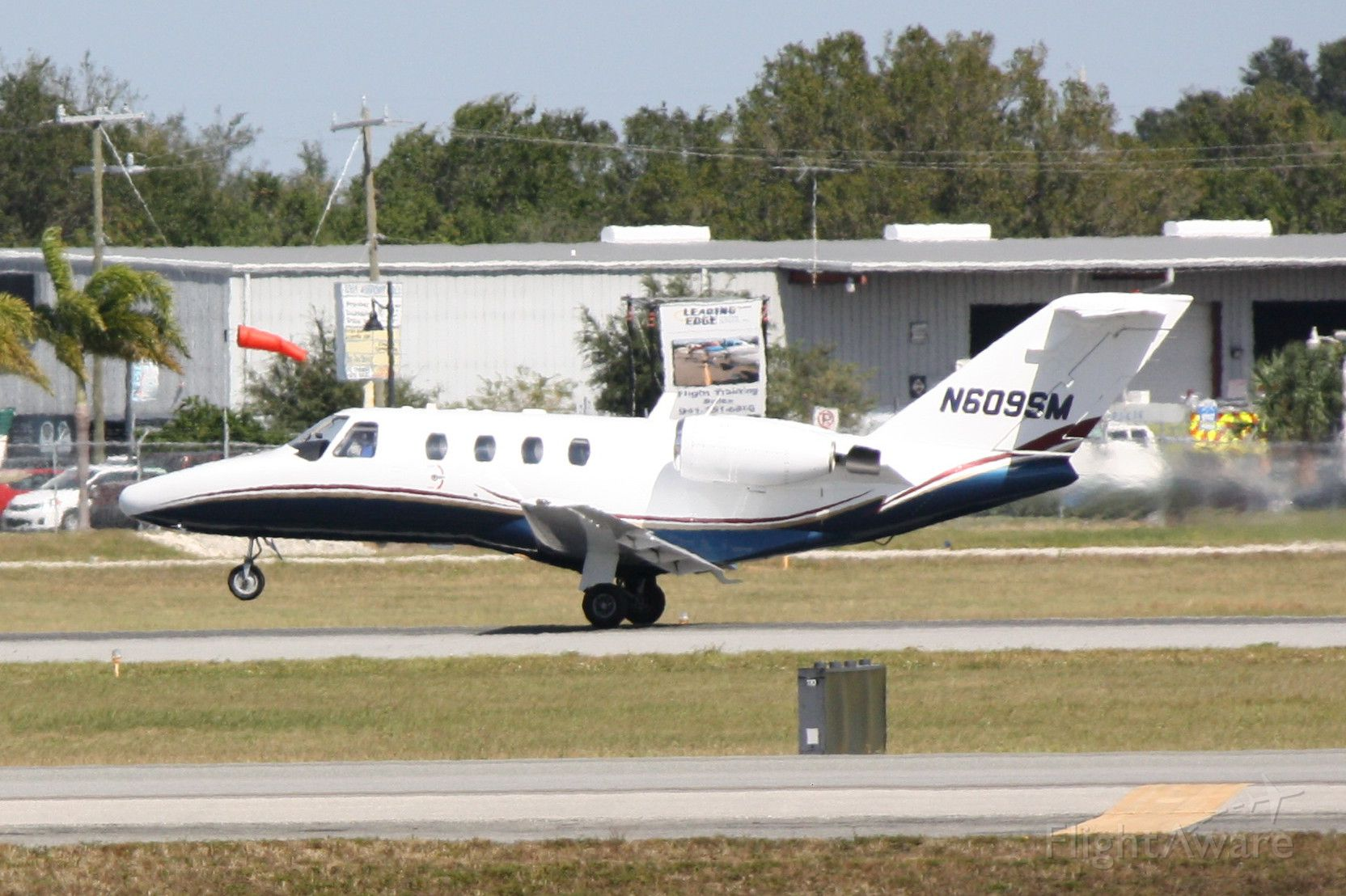 Cessna Citation CJ1 (N609SM) - CitationJet (N609SM) departs Sarasota-Bradenton International Airport enroute Rowan