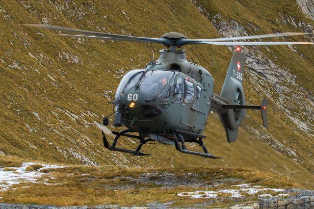 Eurocopter EC-635 (T360) - Axalp live fire demonstration<br />Swiss Airforce / Eurocopter EC-635