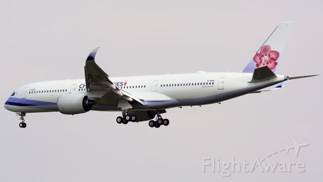 Airbus A350-900 (B-18916) - China Airlines new 359