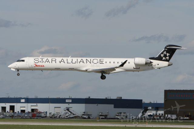 Canadair Regional Jet CRJ-700 (C-FUJZ) - August 18, 2009 - landed Winnipeg