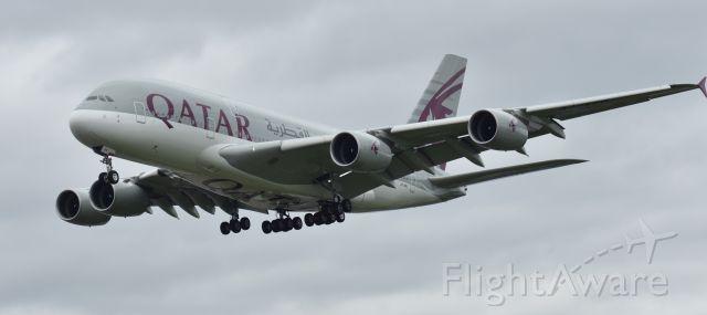 Airbus A380-800 (A6-APH) - LANDING 27R