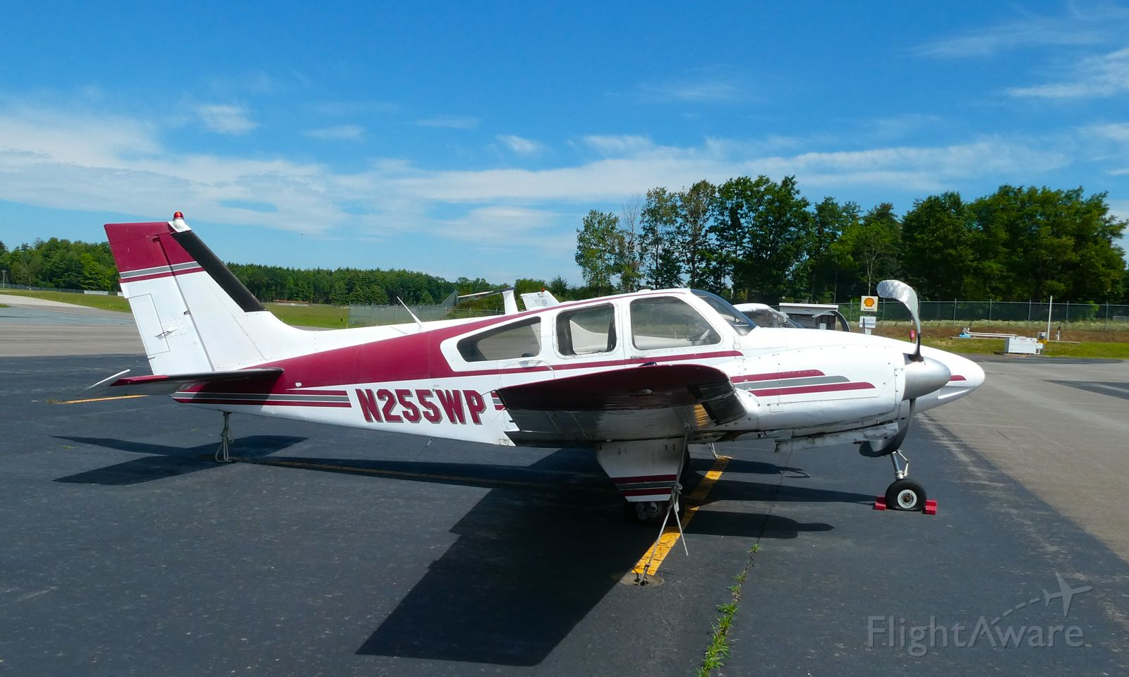 N255WP — - Plan damaged sitting at this location at Keene, NH for at least 2 years as of 2020.  Abandoned, tires flat, no avionics.