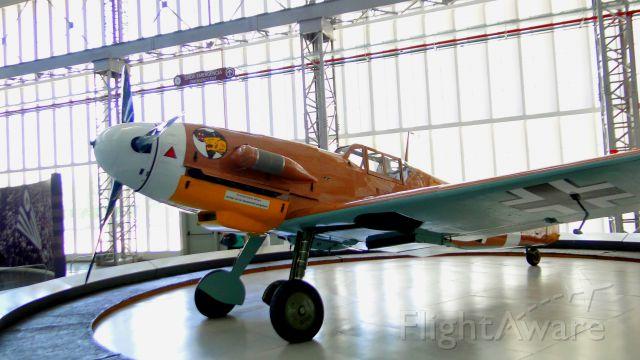 MESSERSCHMITT Bf-109 — - Messerschmitt Bf 109 in TAM Museum, São Carlos-SP, BRAZIL