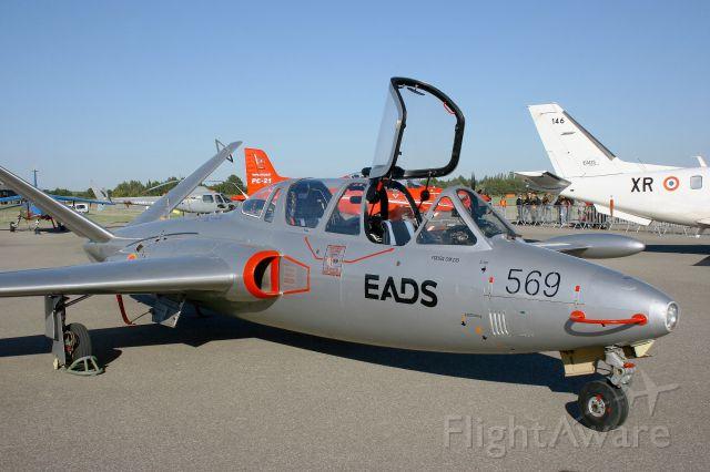 F-AZZP — - Fouga CM-170R Magister, Static Display, Salon de Provence Air Base 701 (LFMY) Open day 2013