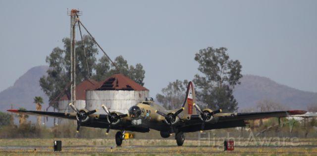 Boeing B-17 Flying Fortress (N93012) - 7 Apr 18