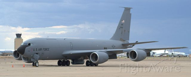 Boeing C-135B Stratolifter (62-3565) - From the 92nd ARW Fairchild AFB near Spokane, WA are visiting KROW.