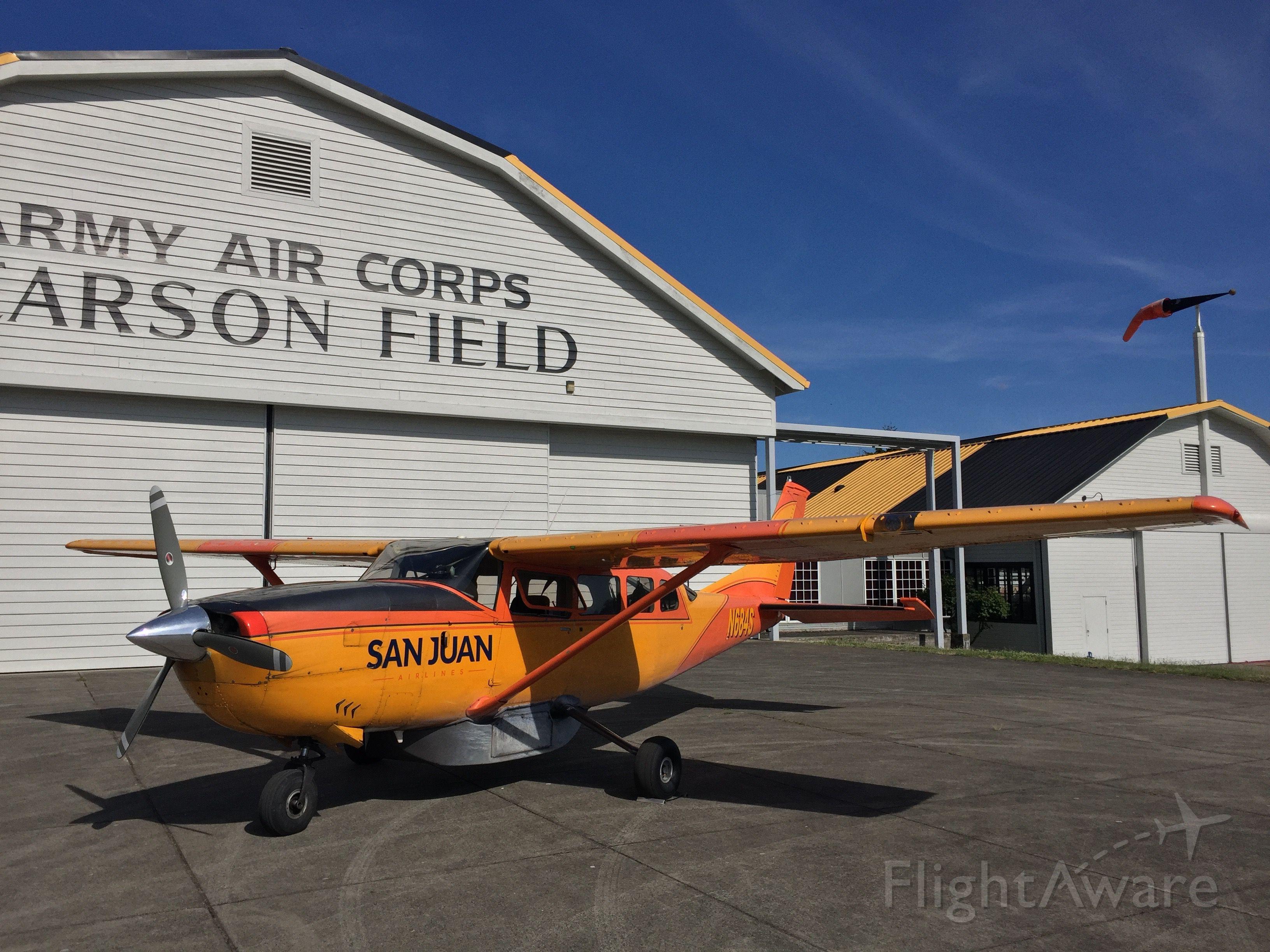 Cessna T207 Turbo Stationair 8 (N684S) - Pearson Field Airport.