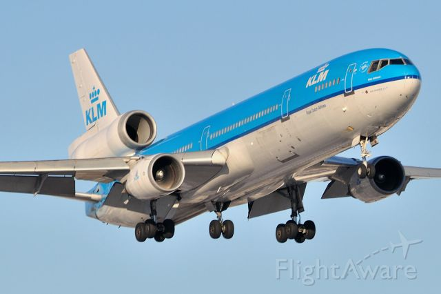 "Boeing MD-11 (PH-KCA) - Named ""Amy Johnson"""