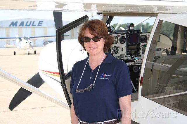 N3241X — - Judy at the plant - 2006!