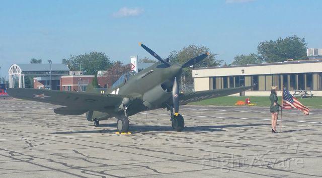 CURTISS Warhawk — - P-40 at Thunder Over Michigan, 2017.