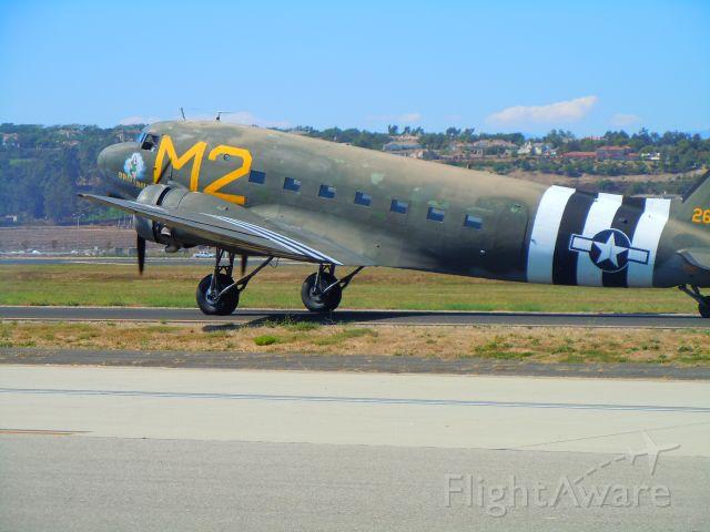 — — - C-47 taxiing at Camarillo airport airshow 8/21/10