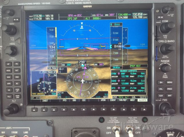 Cessna 206 Stationair (N794AC) - You have to love Synthetic Vision!