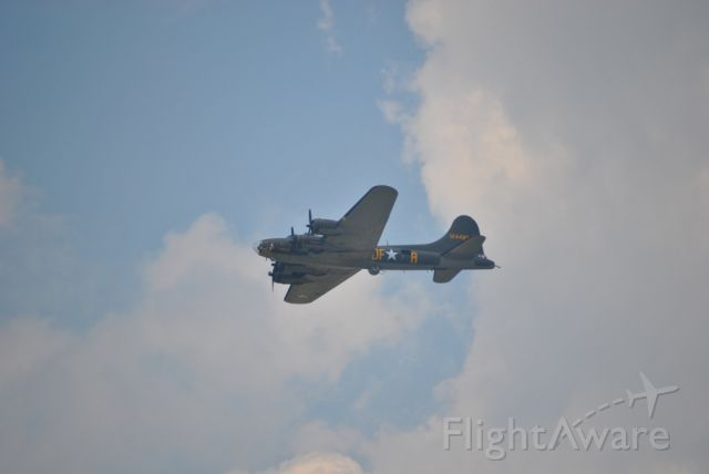 Boeing B-17 Flying Fortress — - Dayton Air Show 2010