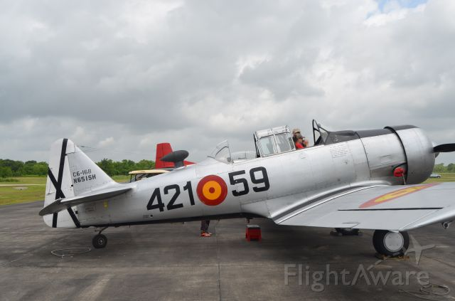 North American T-6 Texan (N651SH) - Taken during the Pearland Airport open house and BBQ fly-in.
