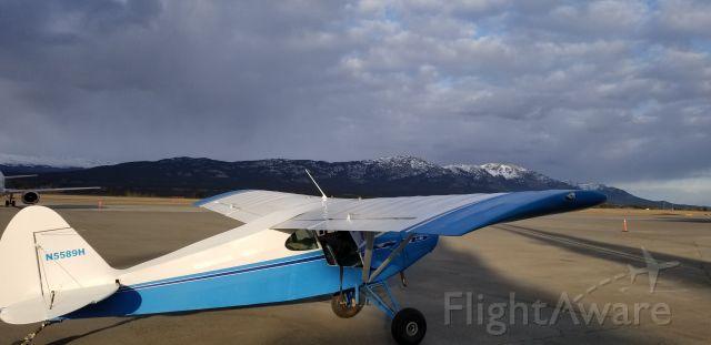 Piper PA-20 Pacer (N5589H) - Yukon Sunset