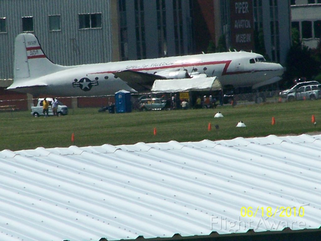 Douglas C-54 Skymaster — - Sentimental Journey 2010