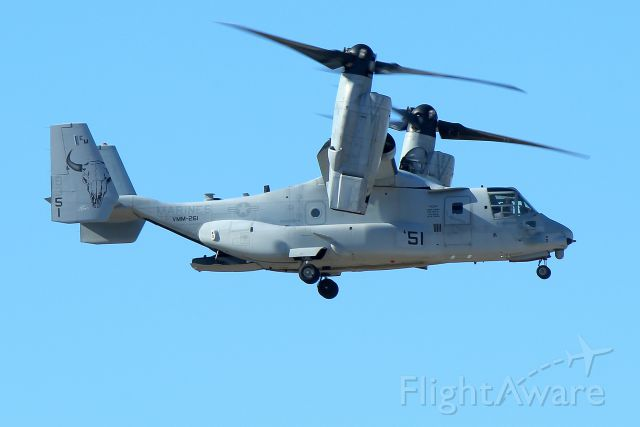 16-8351 — - Elvis 11 from VMM-261, the Raging Bulls of MCAS New River, NC arriving at Pease