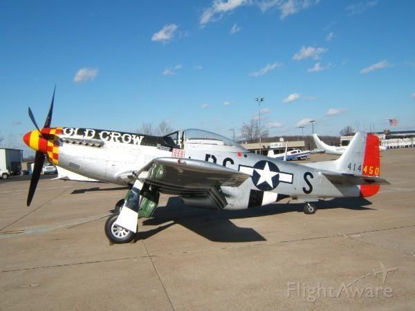 N414450 — - OLD CROW P-51 Mustang