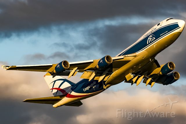 Boeing 747-400 (G-CLAA) - after thunderstorm