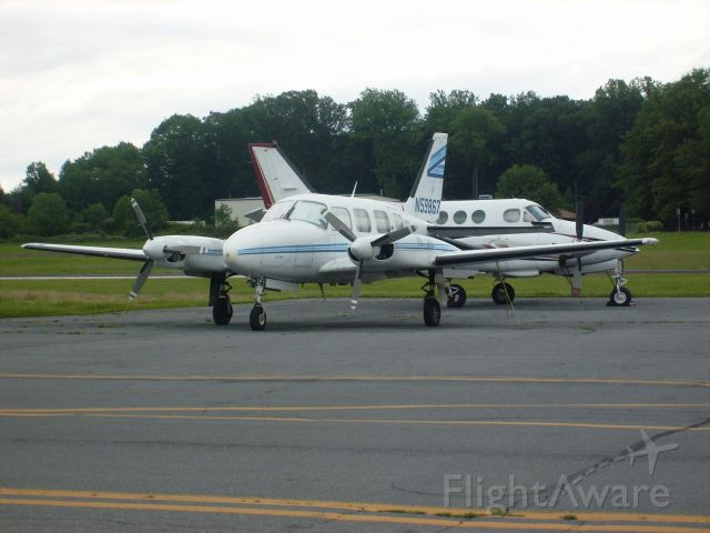 Piper Navajo (N59867) - Came into DYL and stayed for a coupple days. Parked right in front of the airport