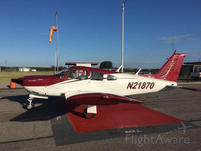 Piper Cherokee Arrow (N21870) - Elk City airport
