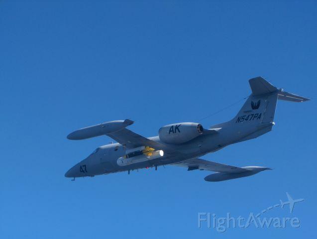 Learjet 35 (N547PA)