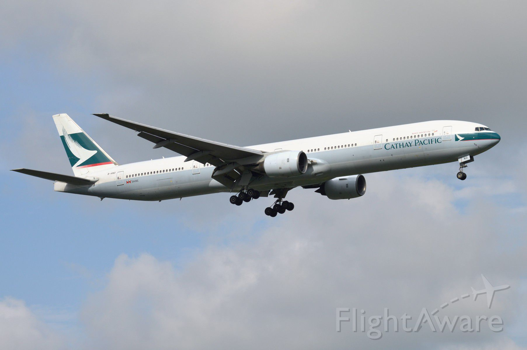BOEING 777-300 (B-HNO) - 2014-08-17