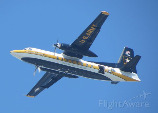 FAIRCHILD HILLER FH-227 (N51608) - The Golden Knights at the Atlantic City Air Show