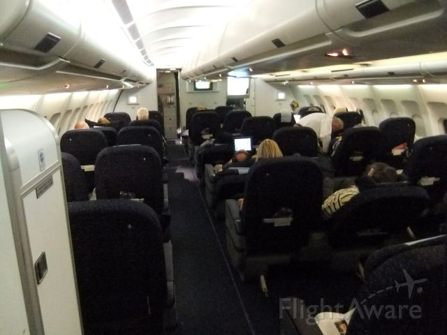Airbus A340-300 (V5-NME) - An Bord von V5-NME, Flug SW285 WDH-FRA. 09.10.2011, kurz nach dem Start, gleich gibts Abendessen.