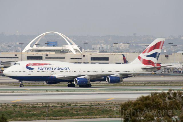 Boeing 747-400 (G-BNLF) - G-BNLF  Boeing  B747-436  BAW  KLAX  20130305  4630