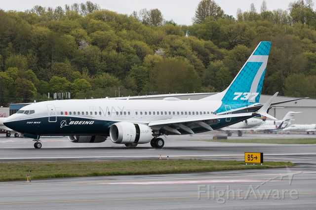 Boeing 737 MAX 7 (N7202U) - Completion of the first flight of the second 737 Max 7.
