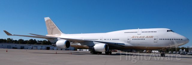 Boeing 747-400 (N263SG) - Brought the Baltimore Ravens down to CLT to play the Carolina Panthers<br /><br />10/28/18