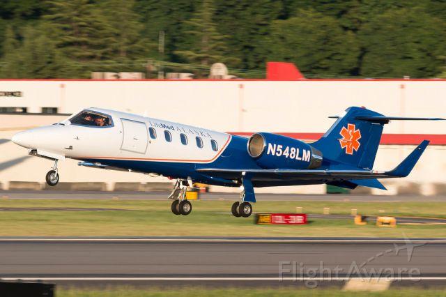 Learjet 31 (N548LM)