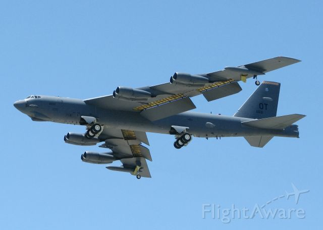 Boeing B-52 Stratofortress (60-0031) - At Barksdale Air Force Base.
